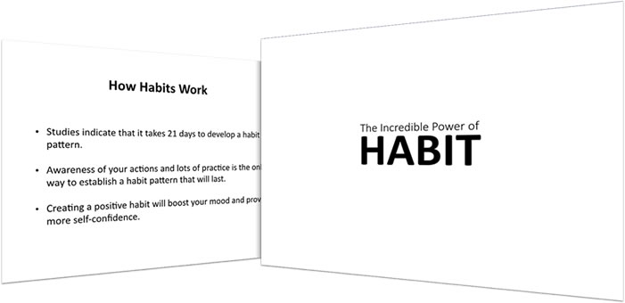 0-Habit Creation Slide Deck